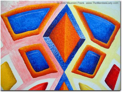 Blue/Orange area