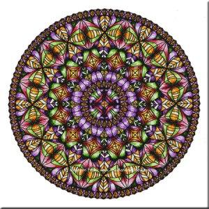 Wings Mandala