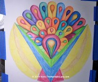 Sweet Victory Mandala Day 15 - 4