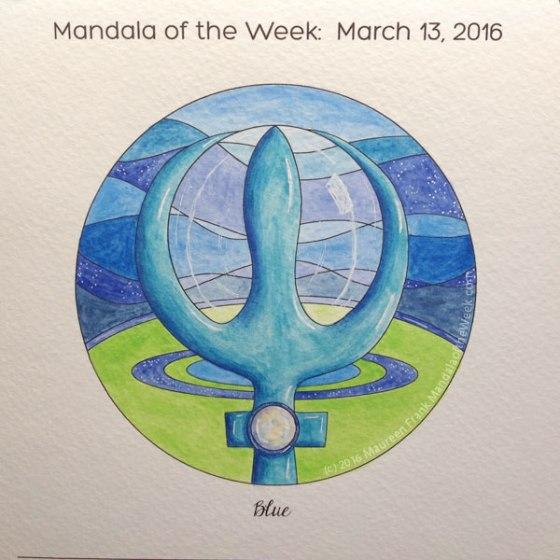 MotW 16-11 Blue Mandala - 11