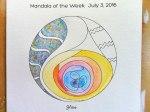 Glass Mandala: 07