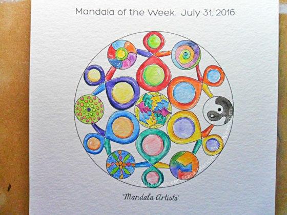 Mandala Artists Mandala - 17