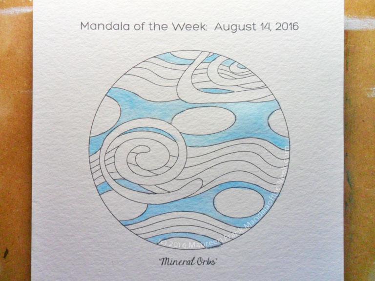 20160818 - Mineral Orbs Mandala - 02