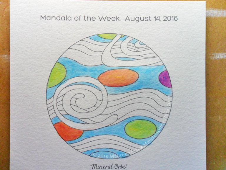 20160818 - Mineral Orbs Mandala - 04