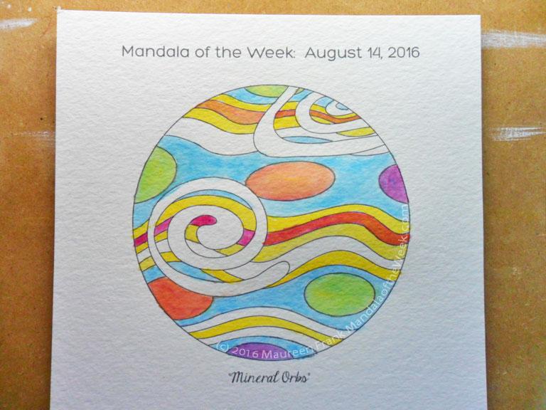 20160818 - Mineral Orbs Mandala - 05