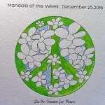 MotW 16-52: 1 - yellow/green on peace symbol, light blue background