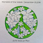 MotW 16-52: 3 - shading of flowers on peace symbol