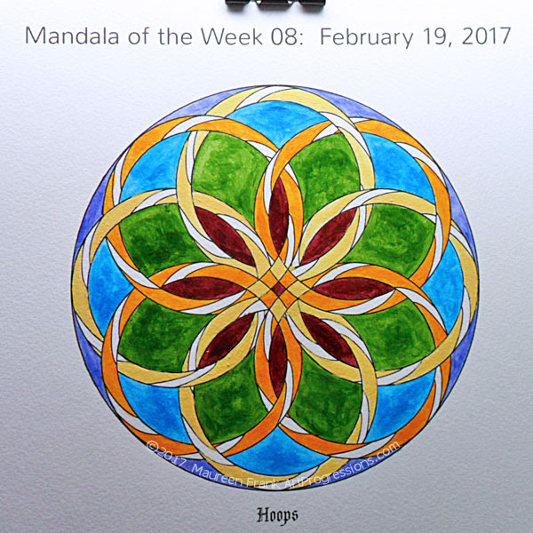 MotW 2017-08: 07 - (center) Permanent Maroon, Naples Yellow, Indian Yellow