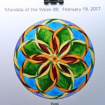 "MotW 2017-08: 10 - (""petal"" shading) Permanent Maroon, Sap Green"