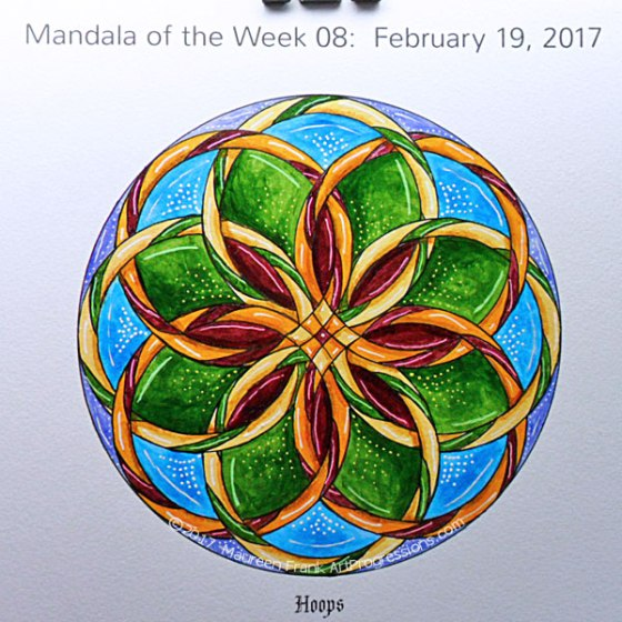 MotW 2017-08: 12 - Gel Pens (pink, green, white, yellow)