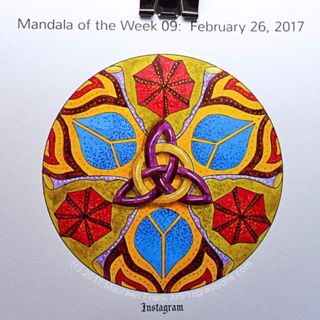 MotW 2017-09: 12 - Dots & Highlights (gel pens)